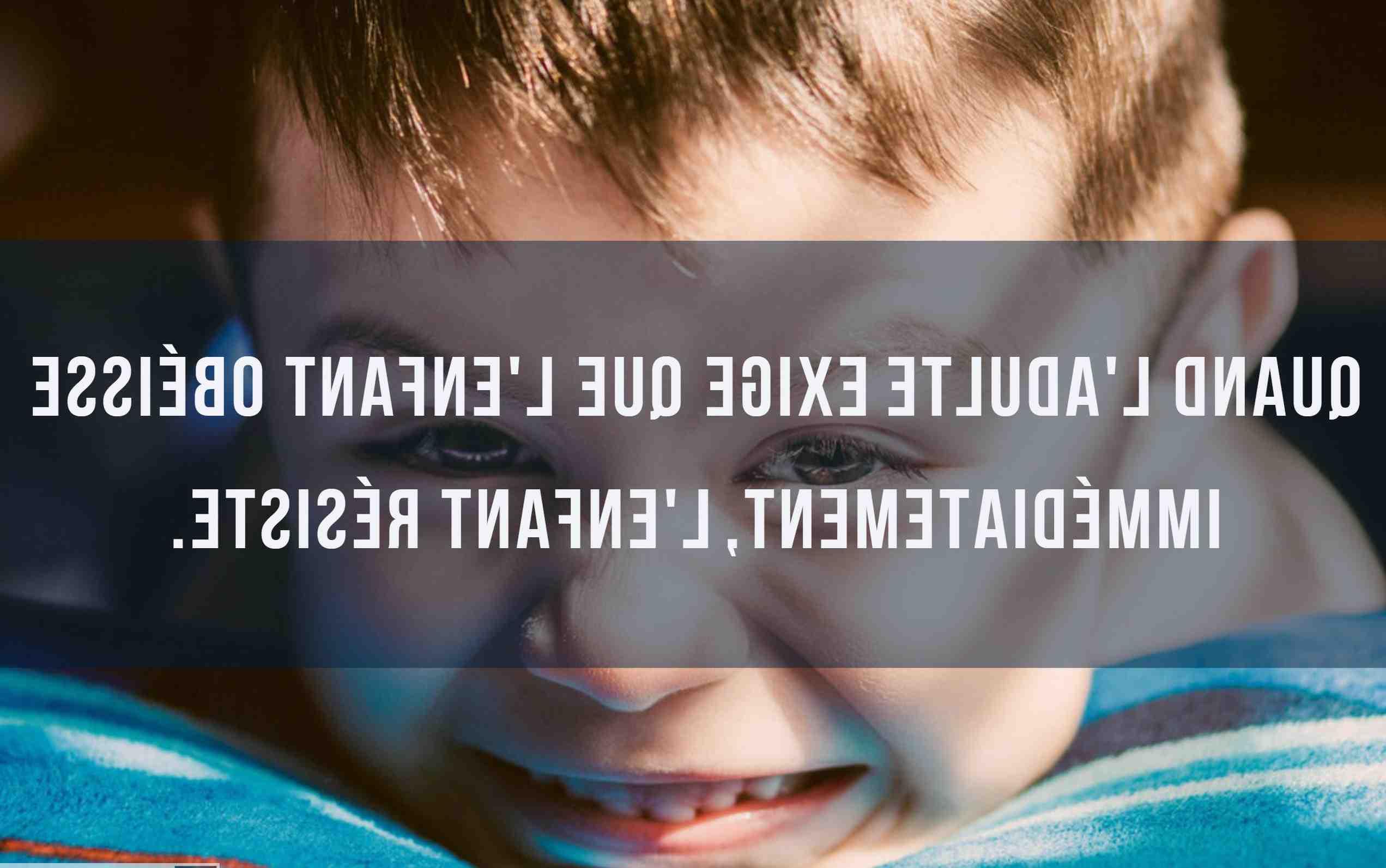 Quand commencer l'éducation d'un enfant ?